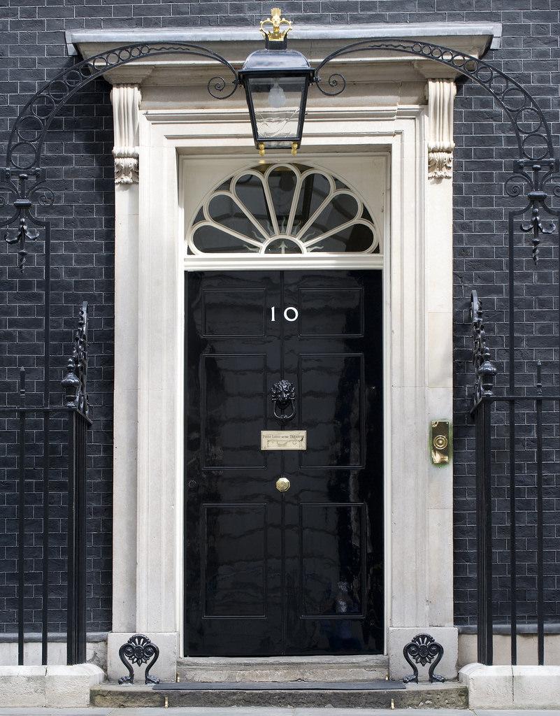 reclaimed period georgian front door