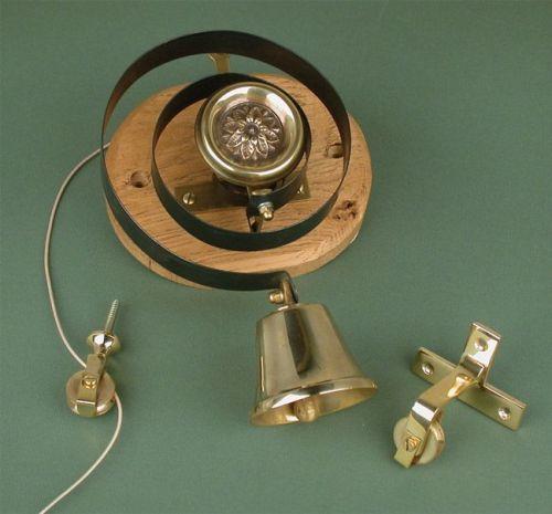 vintage doorbells pull cord
