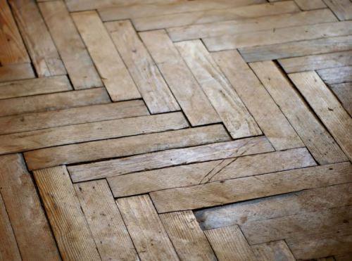 swollen salvaged wood