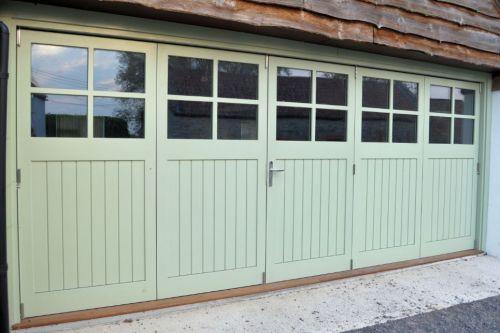 pantone greenery doors