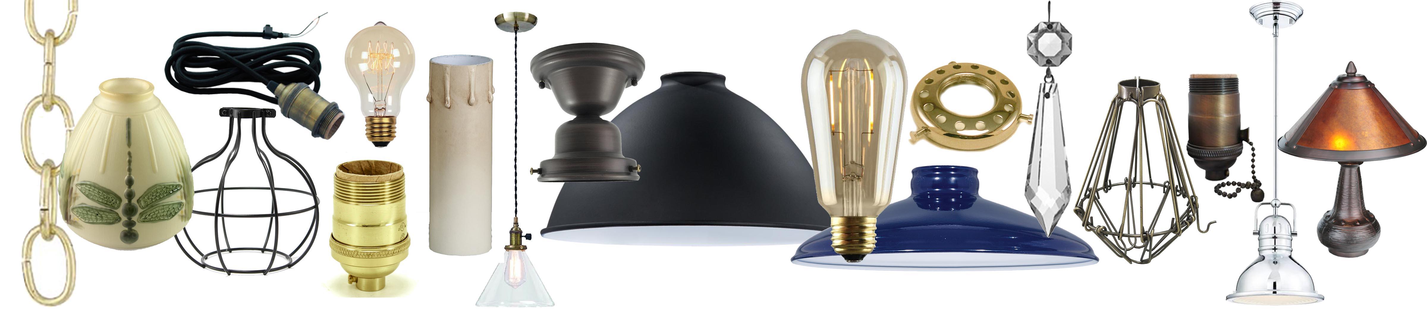lighting lamp parts