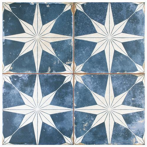 kings star sky blue and white 17 5 8 x 17 5 8 ceramic tile sold per case of 5 11 02 square feet per case