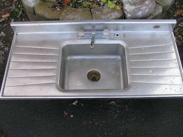 antique 1950s retro stainless steel