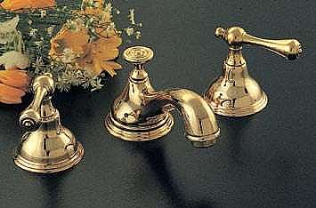 st lawrence widespread lav or sink faucet solid brass multiple finishes in brass