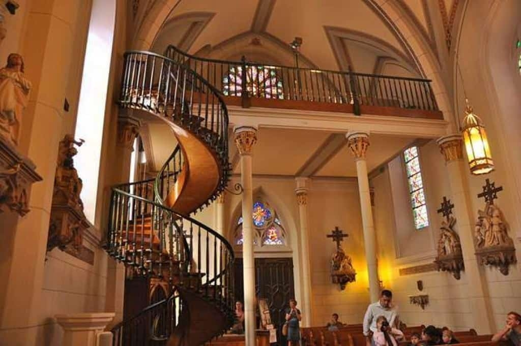 Loretto Chapel Staircase The Legend Of The Santa Fe Miracle   Stairs Of Loretto Chapel