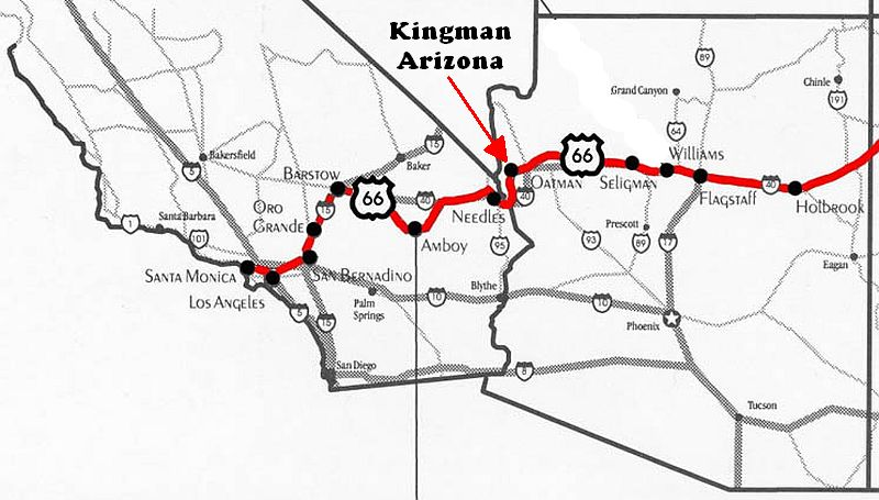 Kansas Highway Map 1940 S