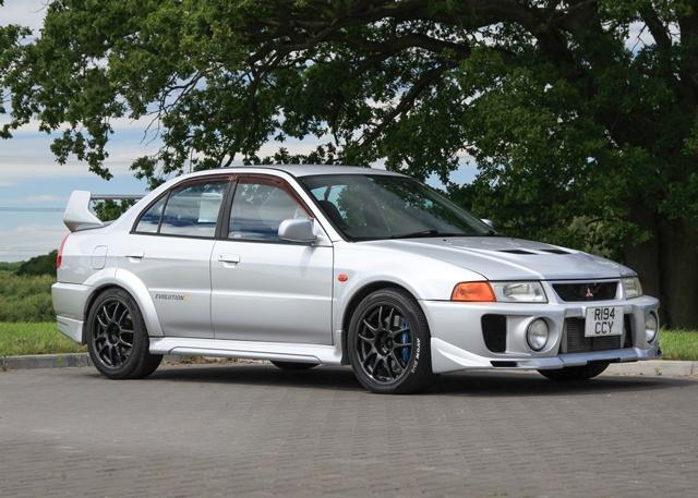 Ref 70 1998 Mitsubishi Lancer Evolution V