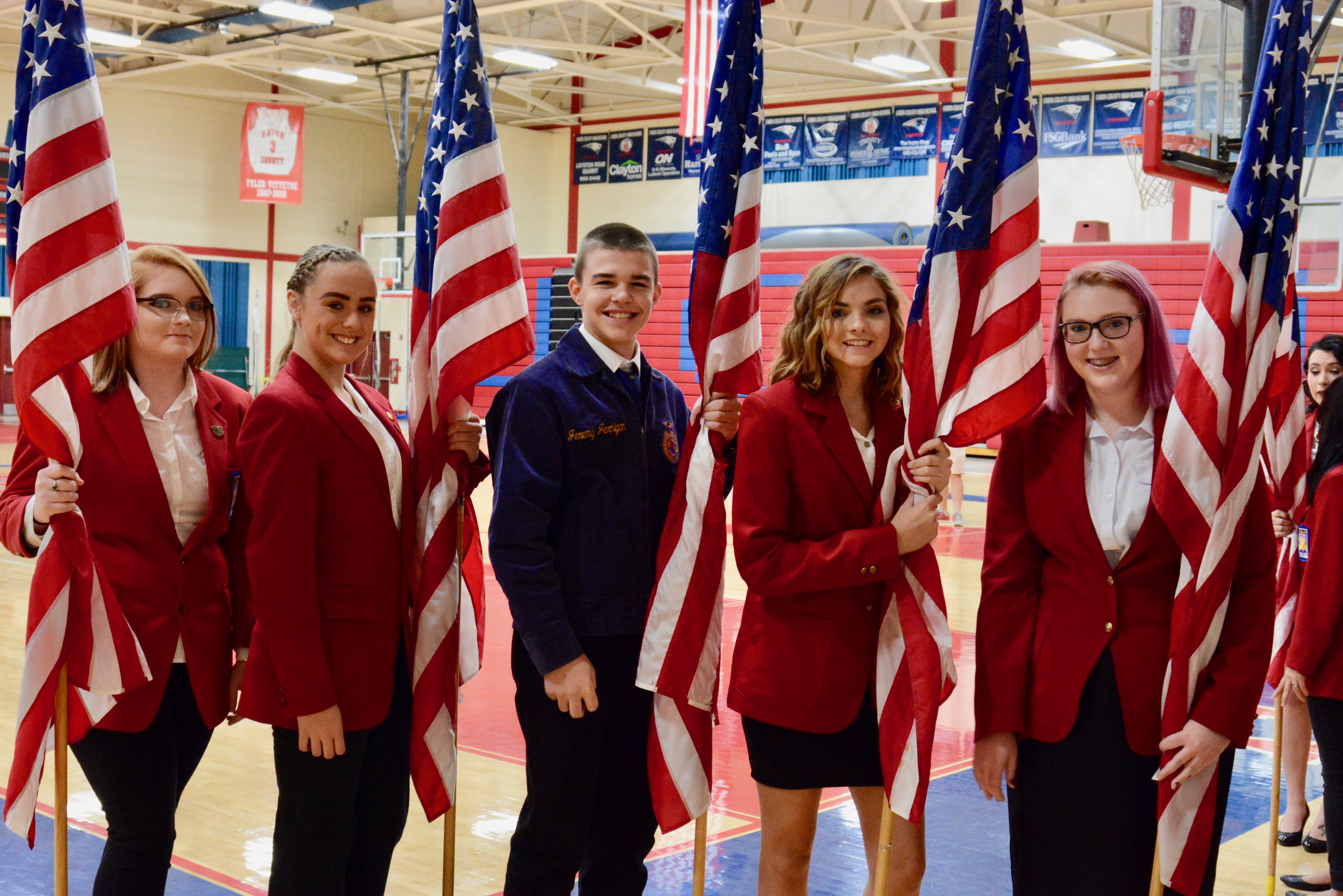 Union County High School Celebrates Veterans Day