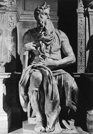 статуя Моисея работы Микеланджело