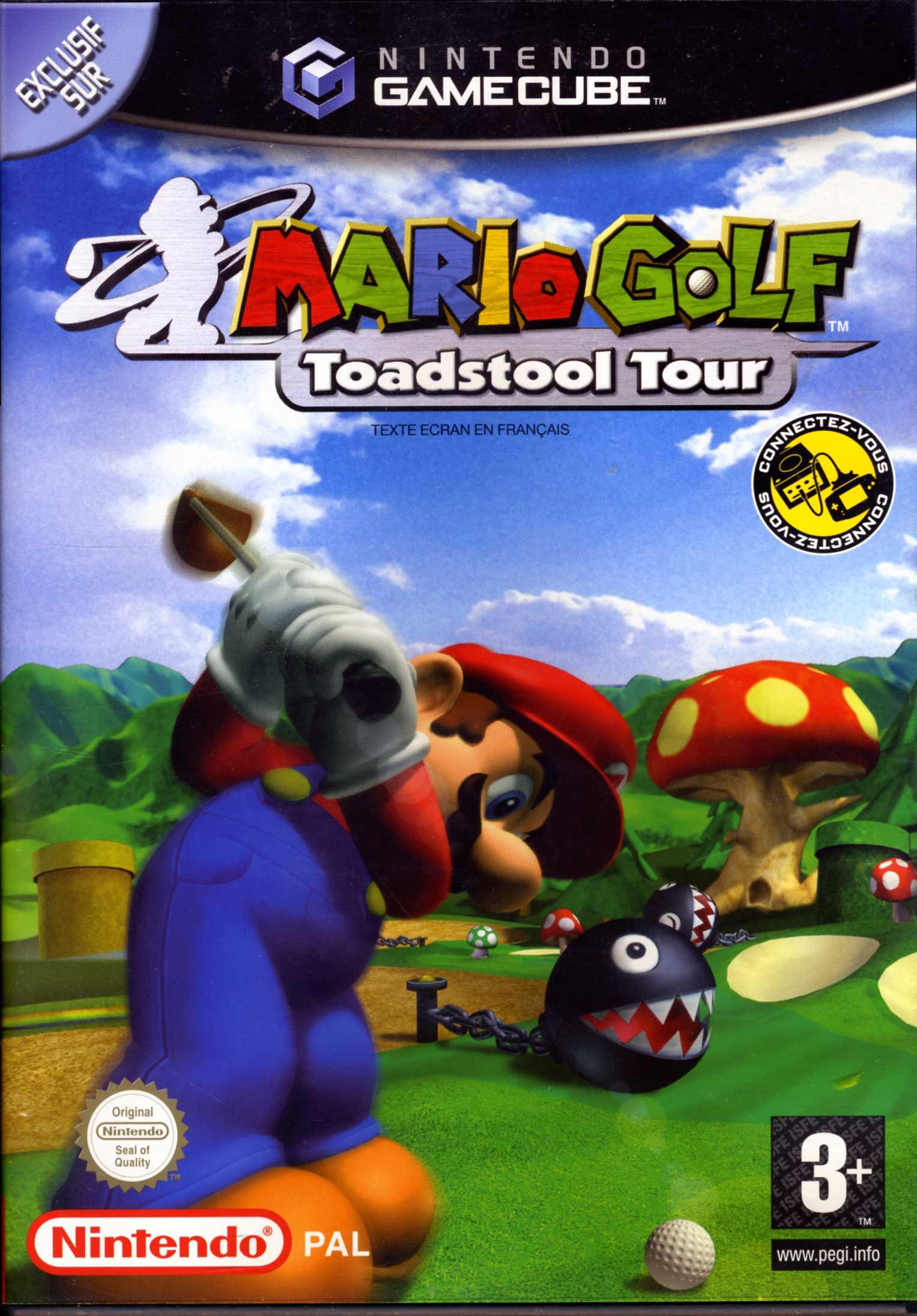 Jeu Video Mario Golf Toadstool Tour Sur GameCube 0