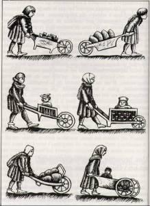 typen 13e eeuwse kruiwagens