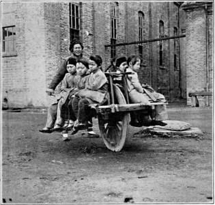 kruiwagen met centraal wiel