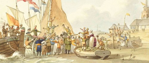 Aankomst Willem Frederik