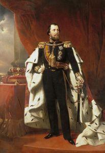 portret koning Willem III