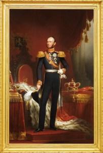 portret koning Willem II