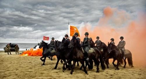 paarden oefenen voor Prinsjesdag