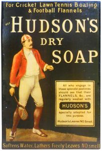 Advertentie Hudson's zeeppoeder