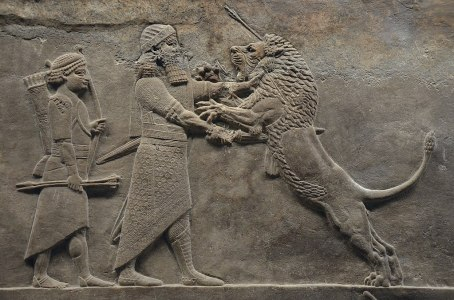De Leeuwenjacht van Ashurbanipal