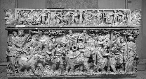 de triomftocht van Dionysus