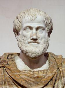 marmeren buste Aristoteles