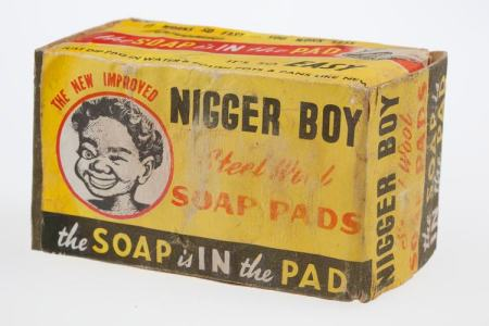 Nigger Boy Steel Wool Soap Pads