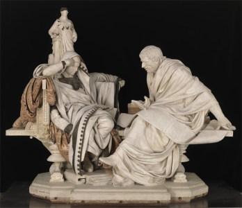 Nero en Seneca door Barron
