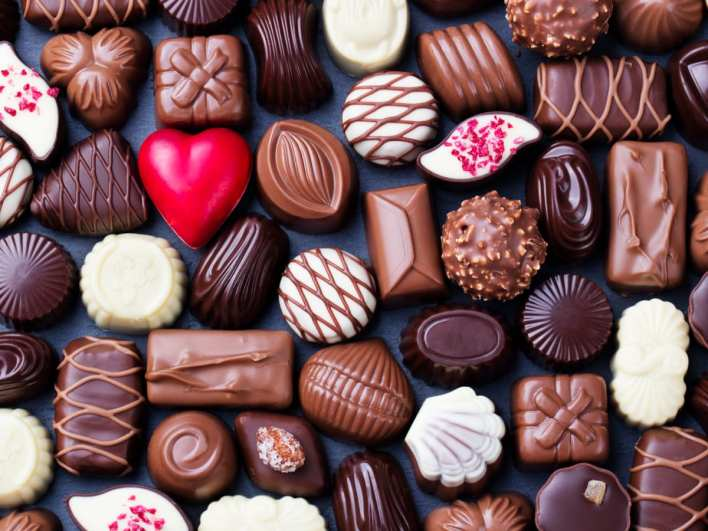 how chocolate became a valentine's day staple - history