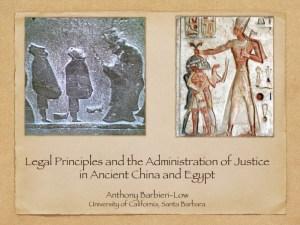 LawChinaEgypt