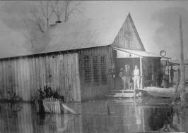 Fitler Store in 1927 floot