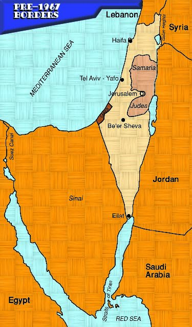 Maps Of Israel Over Time