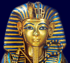 mask king tut