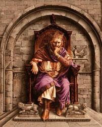 A romantic depiction of King Arthur