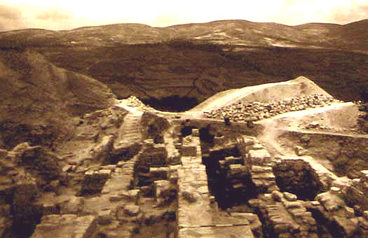 Samaria excavations