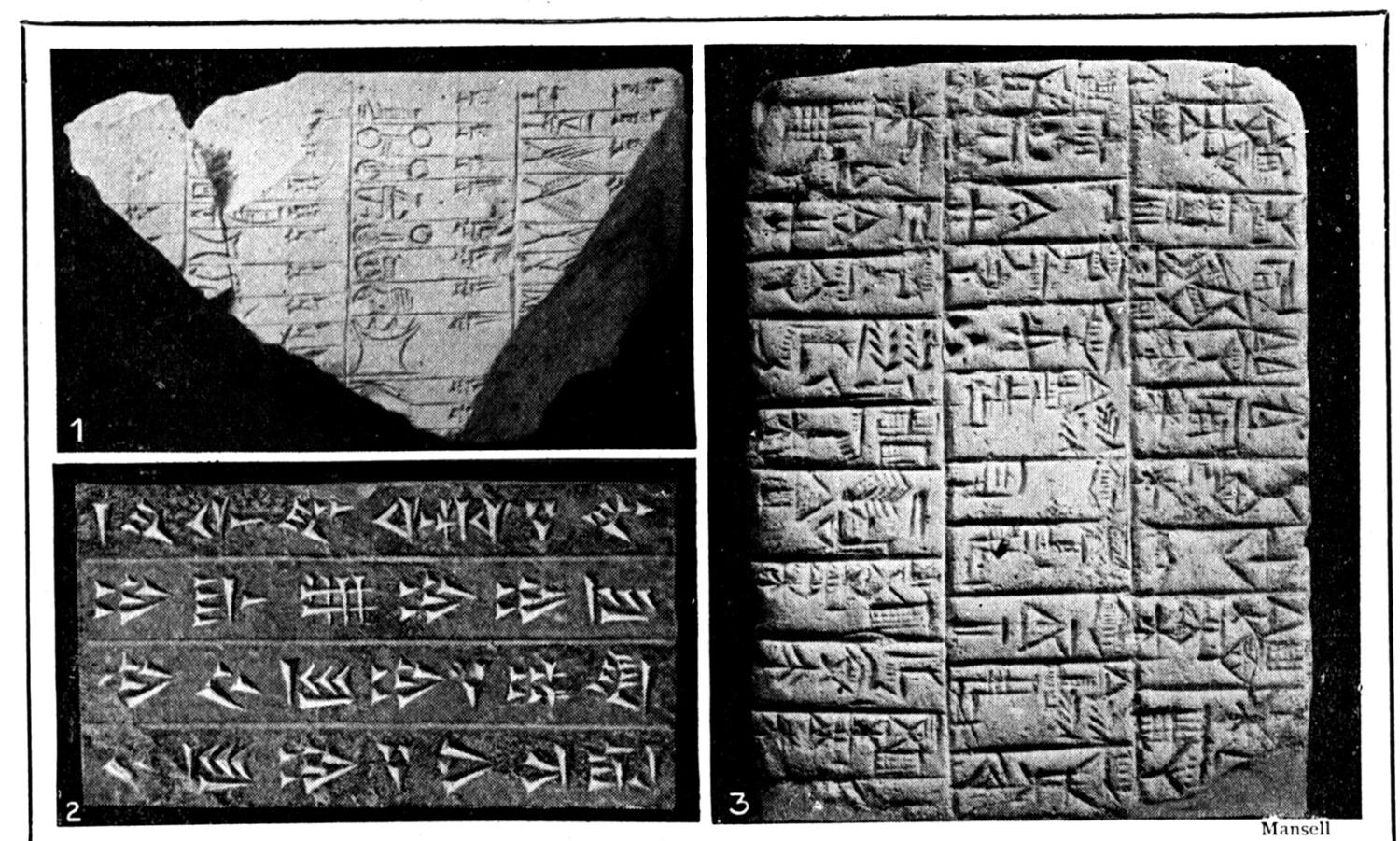 Sumerian Writing And Cuneiform Facts For Kids