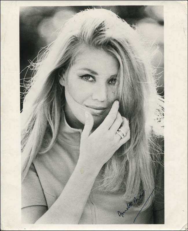 Annette Andre Autographed Signed Photograph