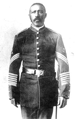 Buffalo Soldier Moses Williams Receives Medal Of Honor On