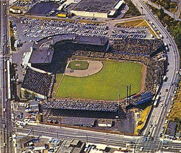 Sicks Stadium Seattle Historylink Org
