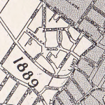 This map, dated 1936, retains the street's name as Butternut Terrace. Source: Lucien Breault's Ottawa: Old and New (1946)