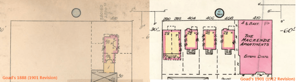 1888 Goad's (1901 Revision), Left & 1902 Goad's (1912 Revision, Right)