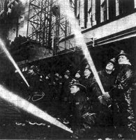 The Journal's photographers, Dominion Wide (an apt name), were on hand to witness the Ottawa Fire Department fighting the losing battle. Source: Ottawa Journal, February 6, 1961, Page 21.