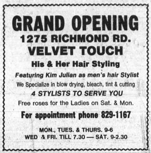At least the hair stylist was able to be hired. No word on the dry cleaner though. Source: Ottawa Journal, November 8, 1975.