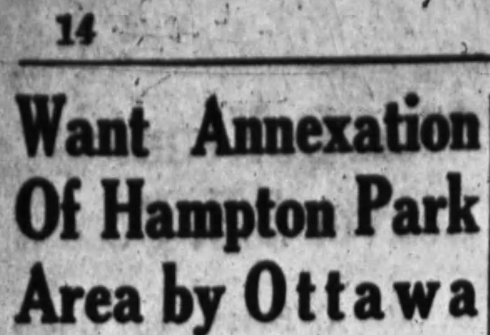 The Journal reported what appeared to be a groundswell of support to join the ranks of Ottawa. Source: Ottawa Journal, November 25, 1932, Page 14.