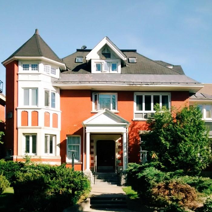 The home of John F. Hurdman, Belgrave Terrace, Franconna Apartments. Image: June 2015.