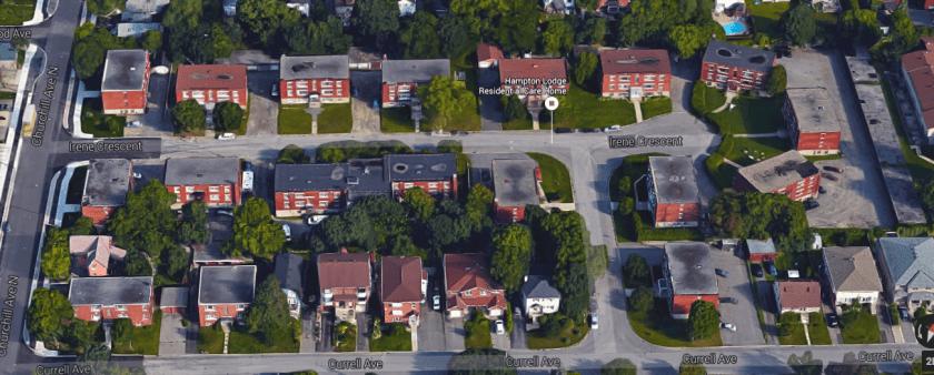 Irene Crescent in 2015. Image: Google Maps.