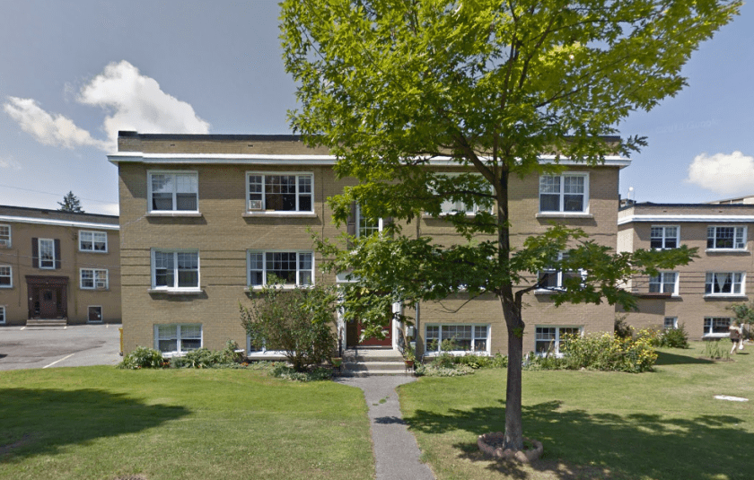 One of the Wedgewood Court apartments in 2015. Image: Google Maps.