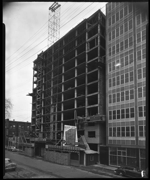 Beacon Arms, November 14, 1955. City of Ottawa Archives, Item CA035331.