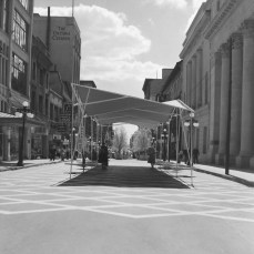The Sparks Street Mall Pilot, 1960. Image: Ted Grant / LAC Series 60-812, Image 18.