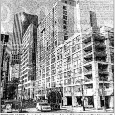 The condominium portion, known as King Plaza. Source: Toronto Star, December 12, 1991, p. F6.