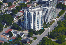 Port de Plaisance's developers promised stunning views of Ottawa. Image: Google Maps.
