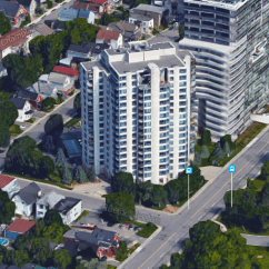 Port de Plaisance's developers promised stunning views of Ottawa. Image: Google Maps.